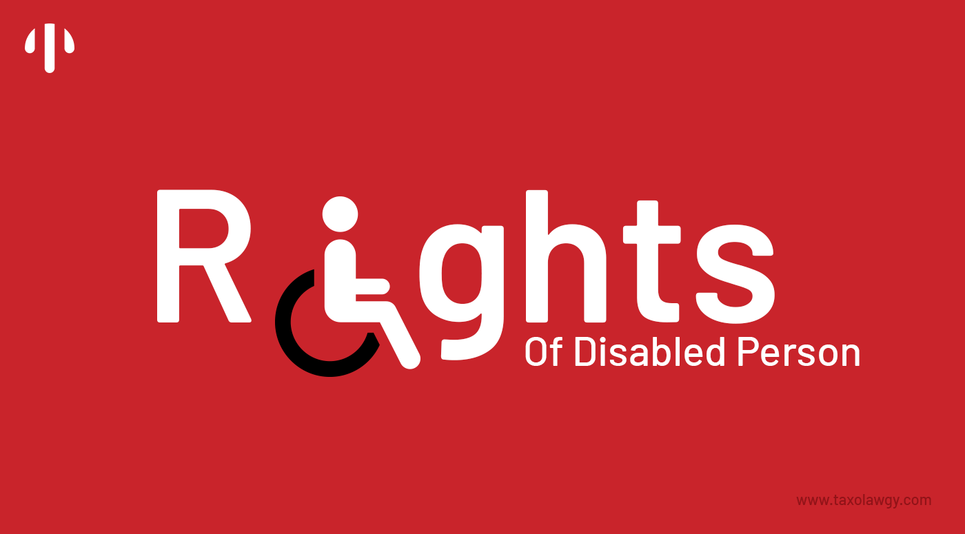 Rights of Disabled Persons In India