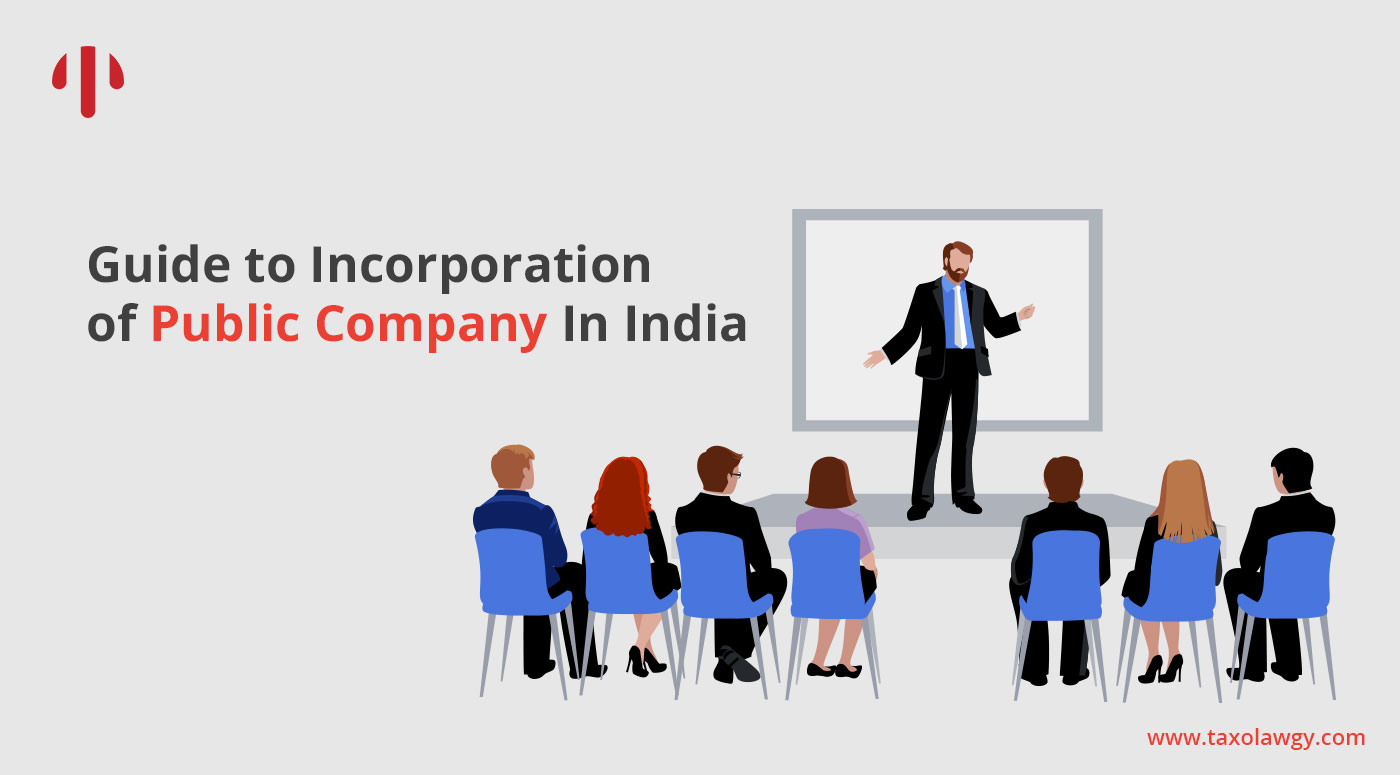 incorporation of public company