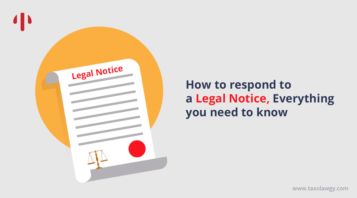 Reply to Legal Notice