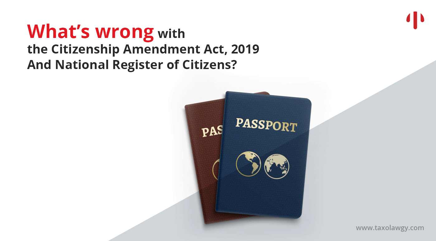 Citizenship Amendment Act 2019