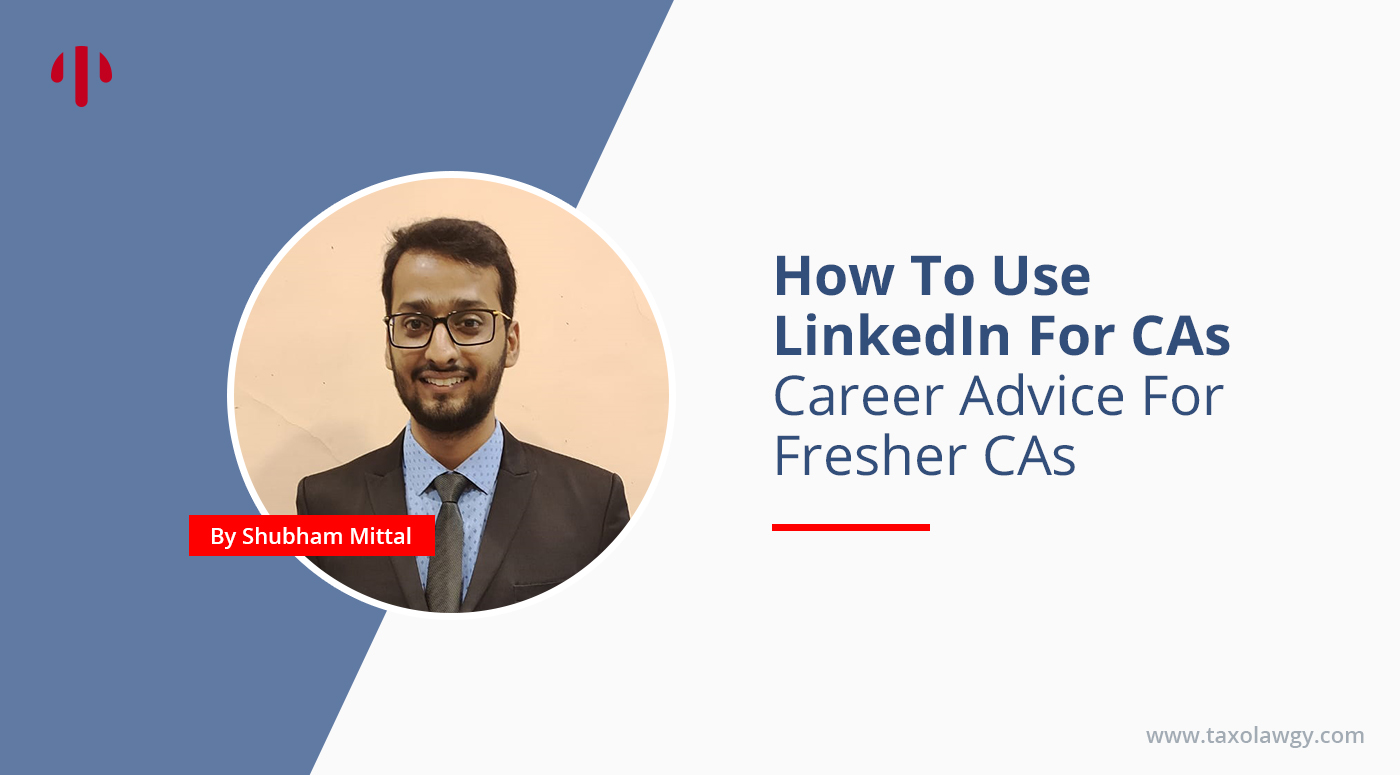 How to use linkedin for CA