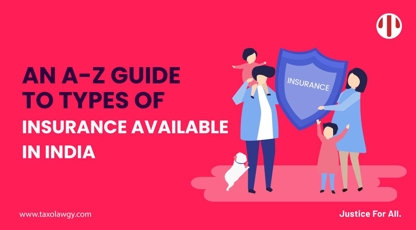 types of insurances
