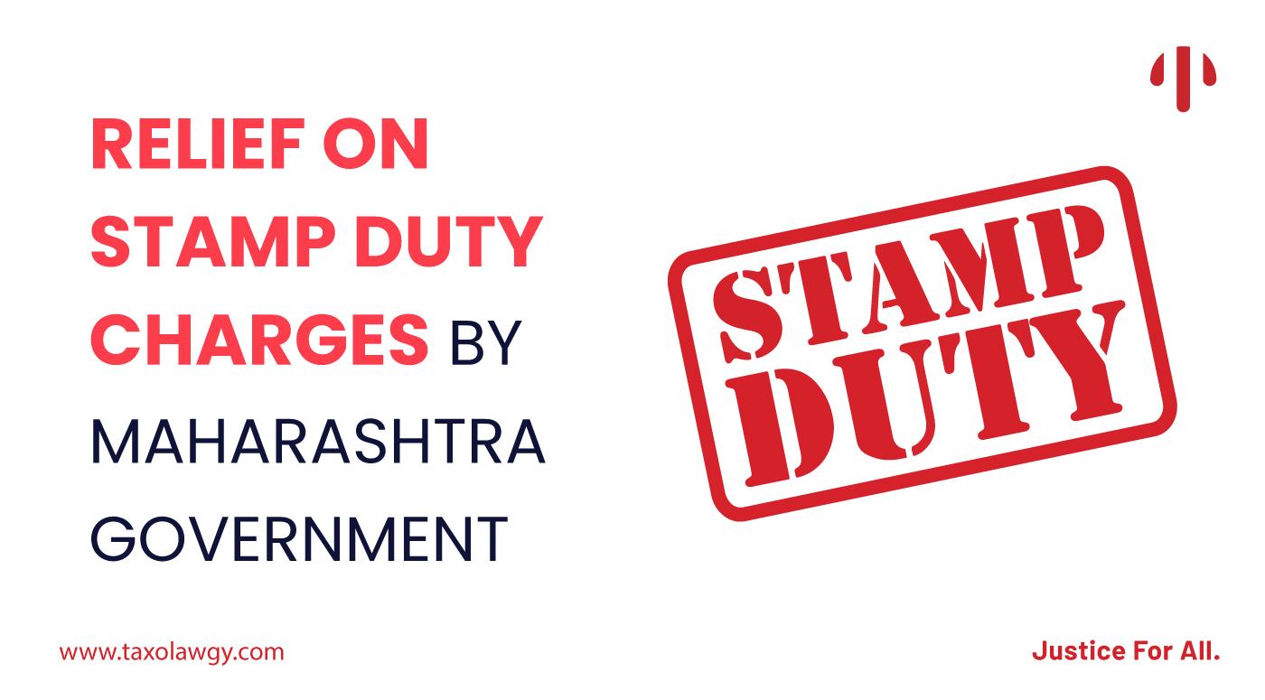 stamp duty in Maharashtra