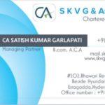 Profile picture of CA Satish Kumar Garlapati